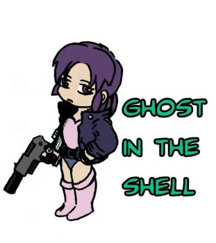 Ghost in the Shell - Chibi by Egory