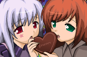 our chocolate heart by bigrika