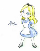 Alice Chibi by Mint-Cocoa