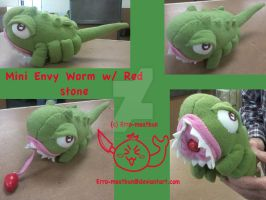 Mini Envy Worm Plush by Erro-meatbun