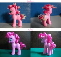 Pinkie Pie Restyle by remenescent