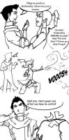 Akward Turtle-Lion: Page 1 Legend of Korra comic by Voishen
