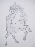 Day 2: Centaur by Faeyne-Silvercloud