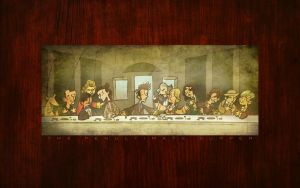 The Doctor's Final Supper by Byo2010
