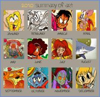 2010 Summary of Art by Themrock
