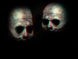 Scary Clowns 3-D conversion by MVRamsey