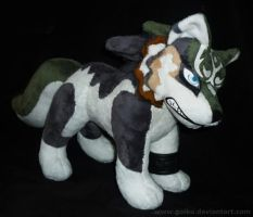 Zelda - Wolf Link - FINISHED 1 by goiku