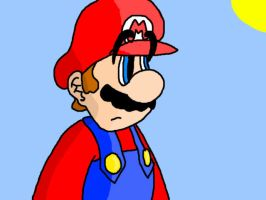 Mario shading practice by Rivux