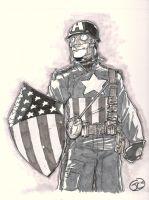 Captain America by sketchinprican25