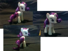 finally I have my Rarity doll by ZICANEBORGEN