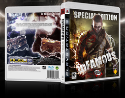 Game Case Artwork - inFAMOUS by Birdie94jb