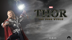Thor: The Dark World fanmade poster by chronoxiong