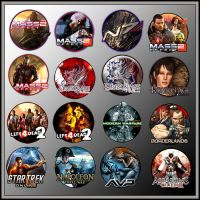 Game Icons XIV by sirithlainion