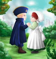 Chibi epic Love _ Hetalia by Acepalm
