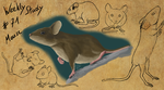 WeeklyStudies #71 Mouse by RivvilRothe