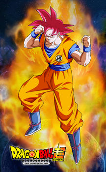 POSTER GOKU SSG by naironkr