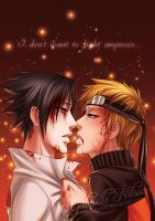 SasuNaru - Don't want to fight by Gabbi