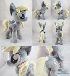 Derpy Hooves Plushie by dolphinwing