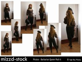 Pirates - Barbarian Queen Pack 6 by mizzd-stock