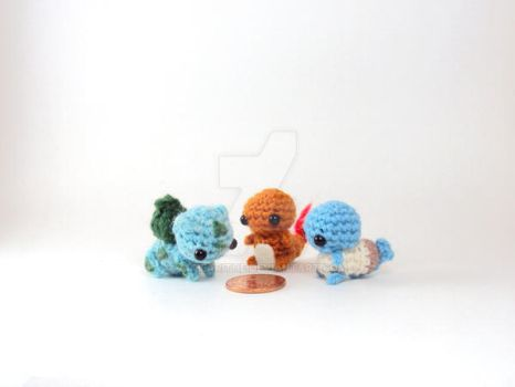 First Prize - Kanto Starters by altearithe