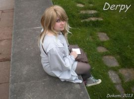 Derpy Hooves Cosplay Dokomi 2013 by Senaris