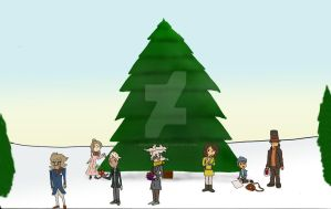 Group Christmas Story - 2 by descolefan1
