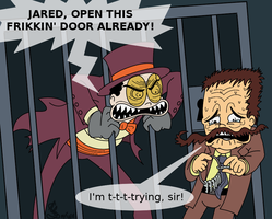 :Superjail: A Little Dilemma: by Tigerman-exe