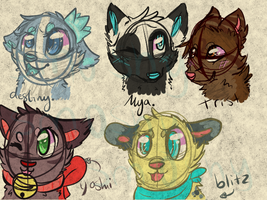 character headshots CX by P0CKYY