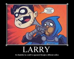 Damnit Larry by Stack23