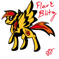 Flare Blitz by Brookreed