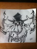 Tattoo Design Skull by thisiscray