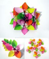 Origami Flower by cerenimo