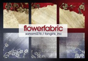 100x100 textures: flowerfabric by Sanami276