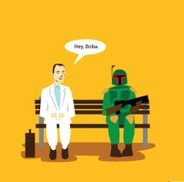 Boba-Gump by mattcantdraw