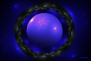 Blue Magma by Yenkoff