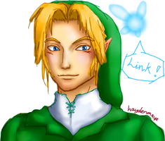 Link (and Navi) by haydenmaye