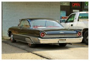 Ford Galaxie Starliner Rearview by TheMan268
