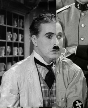Two Sides of Chaplin by brickyphone
