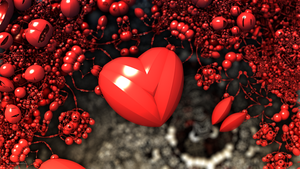 Cherry Heart by PaMonk