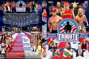WWE Tribute to the Troops 2014 DVD Cover by Chirantha