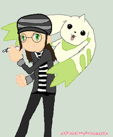 Aoi And terriermon by sams-adopts