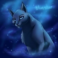 Warriors: Bluestar by JazzTheTiger