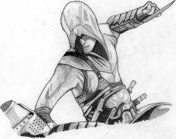 altair (assassin's creed) by deathlouis