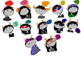 Homestuck Trolls by SouthernWindsSongs