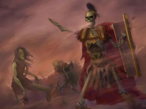 an undead army by diethyloxide