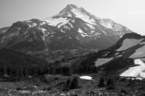 Mount Jefferson from Park Ridge by greglief