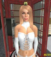 Emma Frost: Phoney Boothed by The-Mind-Controller