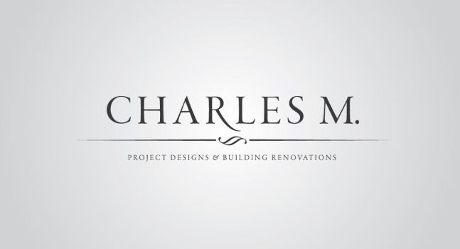 charles m. logo by playboy