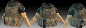 lowpoly pmc body textured by PMCKai86