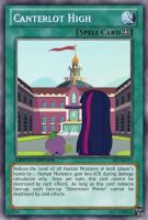Canterlot High (MLP): Yu-Gi-Oh! Card by PopPixieRex